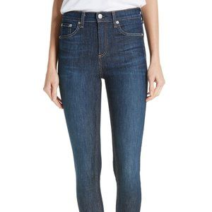 "Rag & Bone 10"" Skinny Ankle Jeans (Mad River) 26"